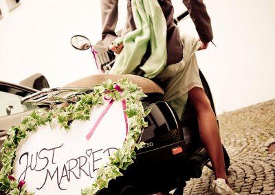 Hochzeit im Sommer