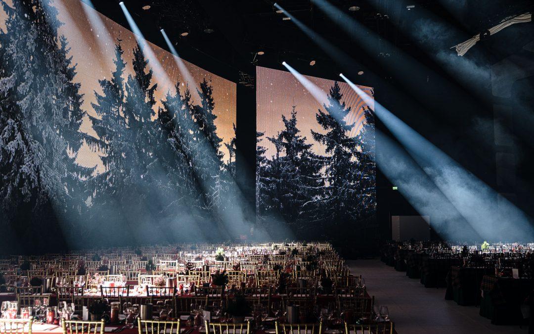 Weihnachtsfeier Showpalast München